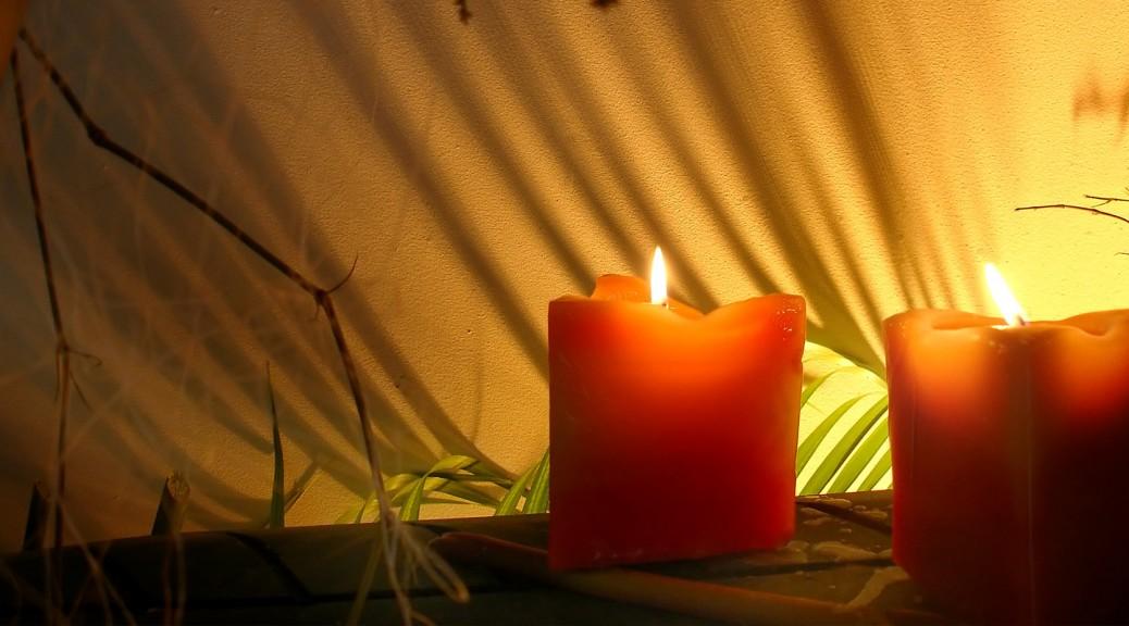 Ascot Reiki Yellow Buffalo Spa candles